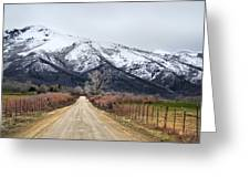 The Road To Soldier Creek Greeting Card