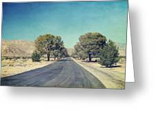 The Roads We Travel Greeting Card