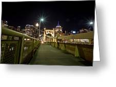 The Roberto Clemente Bridge Greeting Card