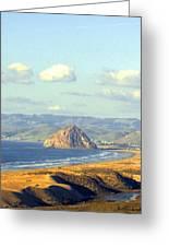 The Rock At Morro Bay Greeting Card