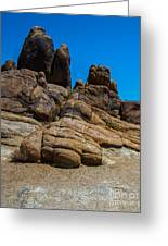 The Rock Formation Greeting Card