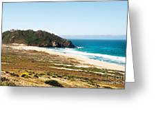 The Rock Of Piedras Blancas Lighthouse In San Simeon Ca Greeting Card