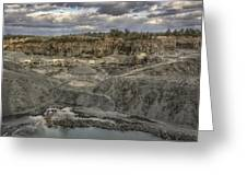 The Rock Quarry Greeting Card