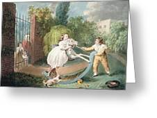 The Rocking Horse Greeting Card