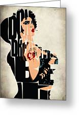 The Rocky Horror Picture Show - Dr. Frank-n-furter Greeting Card