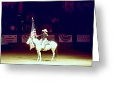 The Rodeo  Greeting Card