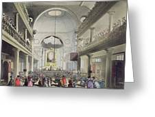 The Roman Catholic Chapel, Lincolns Inn Greeting Card
