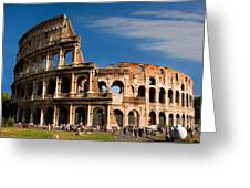 The Roman Colosseum Greeting Card