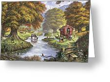The Romany Camp Greeting Card