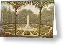 The Rosary At Ashridge Greeting Card