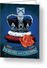 The Rose & Crown Greeting Card