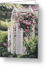 The Rose Arbor The Wauwinet Greeting Card
