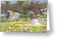The Rose Garden Greeting Card