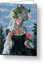 The Rose Of Marie Antoinette Greeting Card