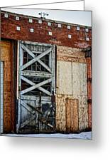 The Roundhouse Evanston Wyoming - 2 Greeting Card
