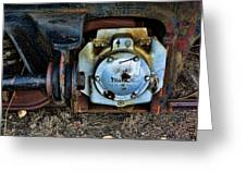 The Roundhouse Evanston Wyoming Dining Car - 3 Greeting Card