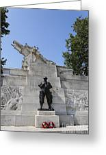 The Royal Artillery War Memorial By Charles Sargeant Jagger And Lionel Pearson In London England Greeting Card