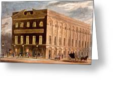 The Royal Couborg Theatre, 1826 Greeting Card