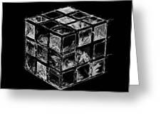 The Rubik's Cube Greeting Card