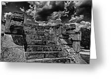 The Ruins Of Chichen Itza V2 Greeting Card