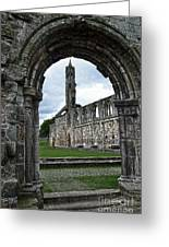 The Ruins Of St Andrews Cathedral Greeting Card