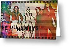The Runaways - 1977 Greeting Card