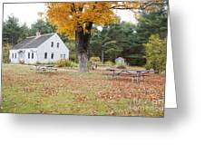 The Russell-colbath Historic Homestead - Albany New Hampshire Greeting Card