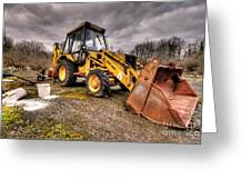 The Rusty Digger Greeting Card