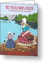 The Sacramento River Greeting Card