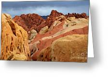 Valley Of Fire Nevada 1 Greeting Card
