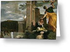 The Sacrifice Of Isaac Greeting Card