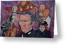 The Saga Of Frankenstein Greeting Card