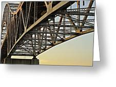 The Sagamore Bridge Greeting Card