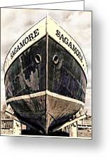The Sagamore Dry Dock Greeting Card