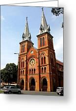The Saigon Notre-dame Basilica Greeting Card
