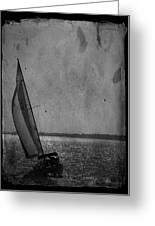 The Sailboat Greeting Card