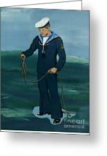The Sailor Greeting Card