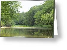 The Salt Fork River Greeting Card