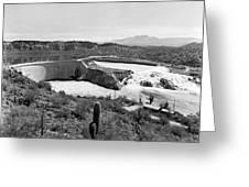 The Salt River In Arizona Greeting Card
