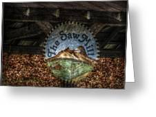 The Saw Mill Greeting Card