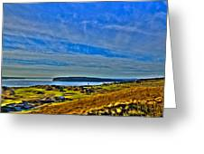 The Scenic Chambers Bay Golf Course II - Location Of The 2015 U.s. Open Tournament Greeting Card