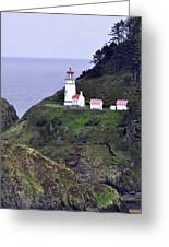 The Scenic Lighthouse Greeting Card