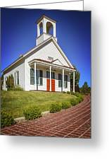 The Schoolhouse Greeting Card