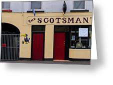 The Scottsmans Bar - Donegal Ireland Greeting Card