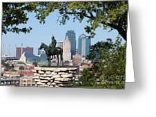 The Scout Kansas City Missouri Greeting Card