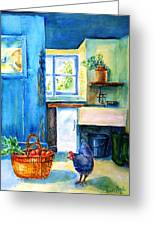The Scullery  Greeting Card