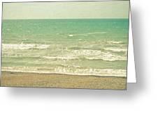 The Sea The Sea Greeting Card