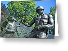 The Seabees At Arlington Greeting Card