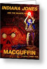 The Search For A Macguffin Greeting Card