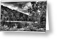 The Secluded Bald Mountain Pond Greeting Card